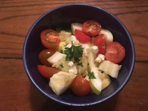 cucumber-tomato-with-feta-and-parsley