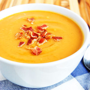 Sweet Potato and Bacon Soup, Photo Cred: Jess (Paleo Grubs) on Flickr