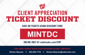 Save on Nationals Game Tickets