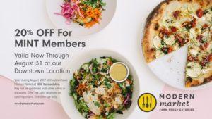 August Featured Community Partner, Modern Market
