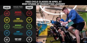 Free Coach by Color Cycle classes at MINT Studio at Manhattan Laundry