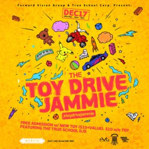 Toy Drive Jammie Party
