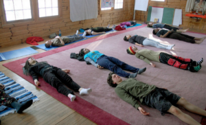 Corpse Pose/Final Resting Pose, or Shavasana