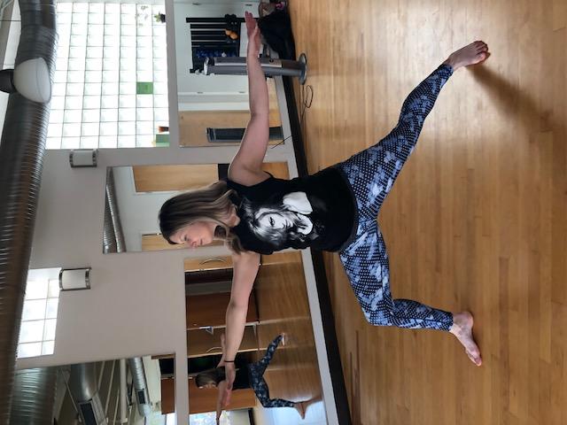 Yoga Instructor Kelly Tobin